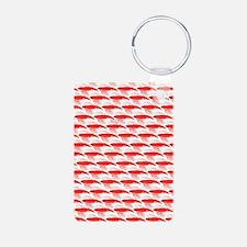 Krill Pattern Keychains