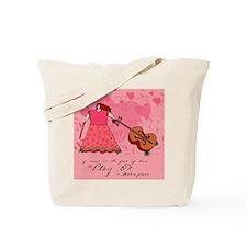 Cello Music Canvas Tote Bag