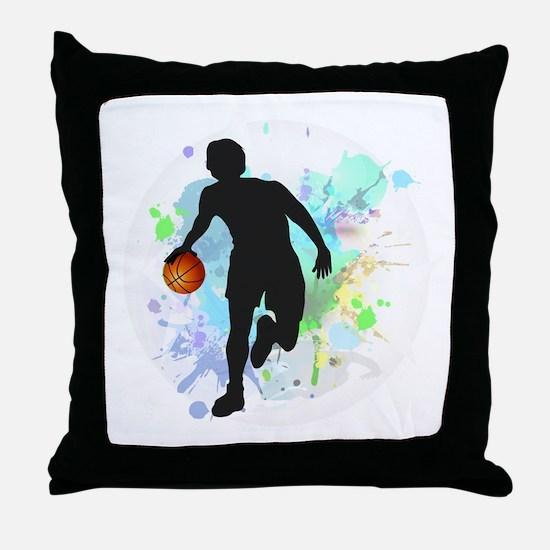 Cute Athletes Throw Pillow