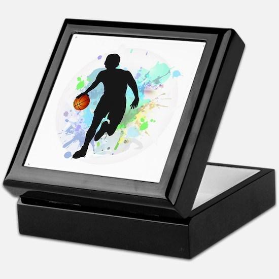 Cute Basketball Keepsake Box