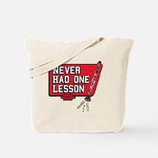 One lesson Tote Bag