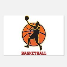 Basketball Logo with Layu Postcards (Package of 8)
