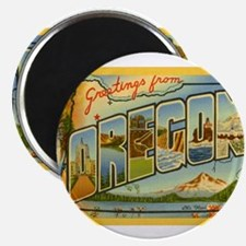 Cute Oregon travel Magnet