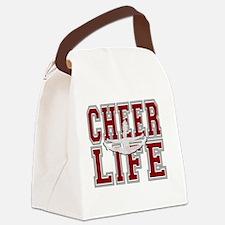 Cute Cheerleading Canvas Lunch Bag