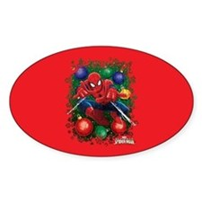 Holiday Spider-Man Ornaments Decal