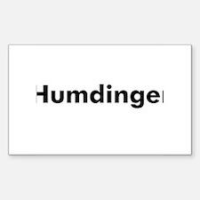 Humdinger Rectangle Decal