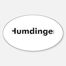 Humdinger Oval Decal