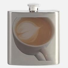 Funny Latte art Flask