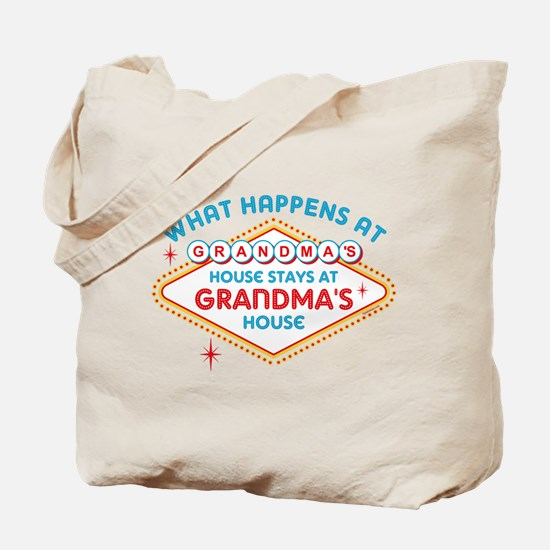 Las Vegas Stays At Grandma's Tote Bag
