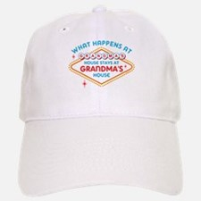 Las Vegas Stays At Grandma's Baseball Baseball Cap