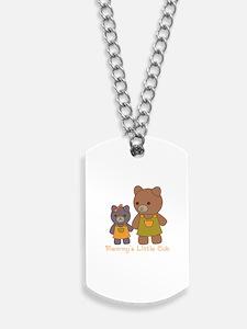 Mommy Bear Dog Tags