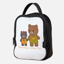 Mommy Bear Neoprene Lunch Bag
