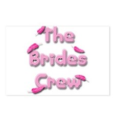 the brides crew.png Postcards (Package of 8)