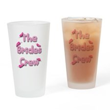 the brides crew.png Drinking Glass