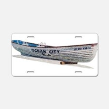 Cute Artwork and artists Aluminum License Plate