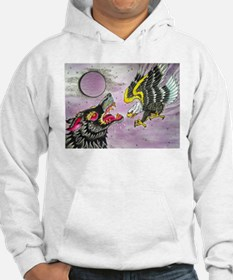 Wolf and Eagle Hoodie