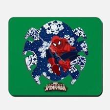 Holiday Spider-Man Icon Mousepad