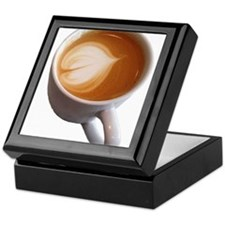 Latte Art Keepsake Box