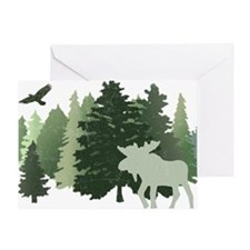 Unique Trees Greeting Card