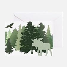 Cute Forest animal Greeting Card