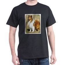 Funny Rough collie T-Shirt