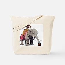 Unique Lucy the elephant Tote Bag