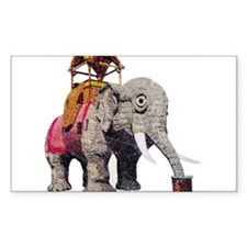 Glitter Lucy the Elephant Decal