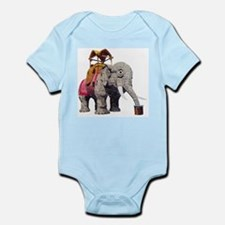 Glitter Lucy the Elephant Body Suit