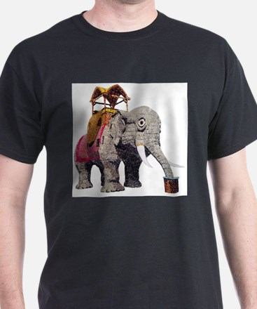 Glitter Lucy the Elephant T-Shirt