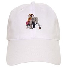 Glitter Lucy the Elephant Baseball Cap