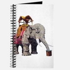 Glitter Lucy the Elephant Journal