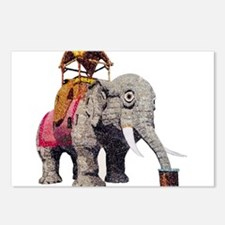 Glitter Lucy the Elephant Postcards (Package of 8)