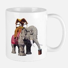 Glitter Lucy the Elephant Mugs