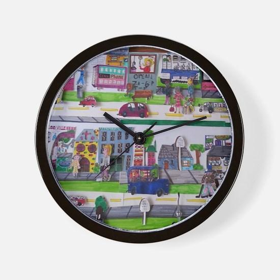 Cute Educational wall Wall Clock