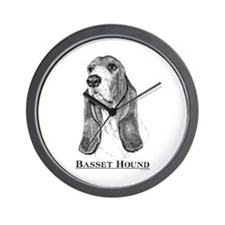 Basset Hound Breed Wall Clock