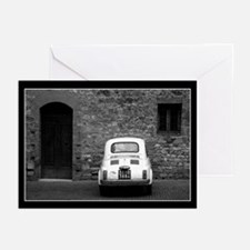 Old Fiat 500 in Tuscany Greeting Cards (Pk of 10)