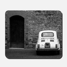Old Fiat 500 in Tuscany Mousepad