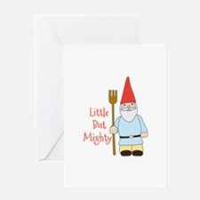 Little Mighty Gnome Greeting Cards