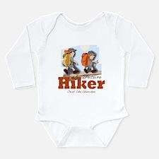 Funny Trails Long Sleeve Infant Bodysuit