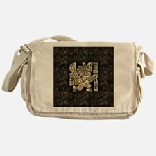 Aztec Eagle Warrior Messenger Bag