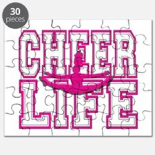 Pink Cheerleader Puzzle