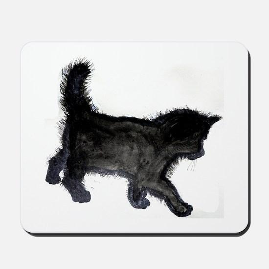 Black Kitten Mousepad