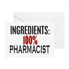 Ingredients: Pharmacist Greeting Card
