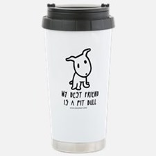 Unique Pitt bulls Travel Mug