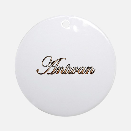 Unique Antwan Round Ornament