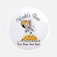 Worlds Best Astronaut Button