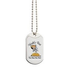 Worlds Best Astronaut Dog Tags