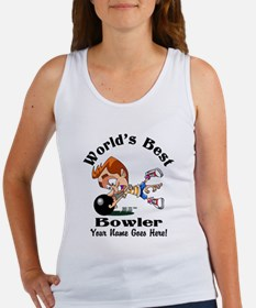 Worlds Best Bowler Tank Top