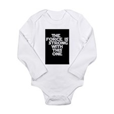 Cute Force strong one Long Sleeve Infant Bodysuit
