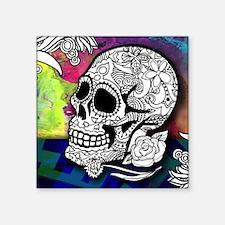 Sugar Skulls Color Splash Designs #WITHMSP Sticker